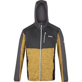 Regatta Cadford Fleece Jacket Men, gris/amarillo